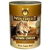 Wolfsblut - Down Under - 6 x 395 g - Black Angus Beef - Nassfutter - Hundefutter - Getreidefrei