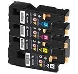 Tintenpatronen-Set, 4 Stück, Schwarz / Cyan / Magenta / Gelb, für 2.000 Seiten / 1.000 Farben, kompatibel mit Xerox Phaser 6000 / 6010 / 6010V / 6010V N / 6010N / Xerox WorkCentre 6015 / 6015V / 6015V B / 6015V N / 6015V NI Vr, ersetzt 106R01630, 106R01629, 106R01628, 106R01627