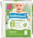 babylove Öko-Windeln nature Größe 2, Mini, 3-6kg, 1 x 28 St