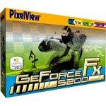 Prolink PixelView GeForce FX5200 Grafikkarte AGP 128MB DDR TV-Out DVI