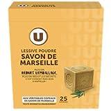Lessive Poudre Savon de Marseille Waschmittel Vollwaschmittel für 25 Wäschen 1,375 Kilo