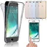 TopgadgetsUK Schutzhülle für Samsung Galaxy S7 Edge, stoßfest, 360 ° Schutz, transparent, Gel