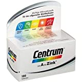 CENTRUM A-Zink + FloraGlo Lutein Caplette, 180 St