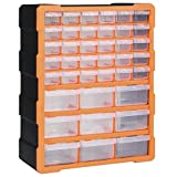 Casdl Multi-Schubladen-Organizer mit 39 Schubladen 38x16x47 cm