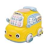 dontdo Elektrisches Universal Auto Spielzeug Elektrisch Universal Bus Flugzeug mit Musik Licht Eltern-Kind Interaktives Spielzeug C