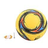 DAUERHAFT Abriebfestigkeitstraining Fußball Winding Liner Weiches Gefühl für Spiele für Teams für das Fußballtraining(Yellow)