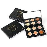 MARSPOWER Concealer-Palette 6 Farben Concealer-Palette Basis-Make-up-Foundation-Creme-Teller Augen-Trimming-Creme Aufhellende Pflegecreme mit Spiegel-Design - 1#