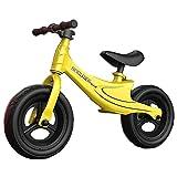 Laufräder Laufrad Laufrad für 2 Jahre Alten Jungen, 12 Zoll Kleinkinderfahrrad mit gepolstertem Sitz und Lenker mit Gummi, Einräder für Jungen/Mädchen Geburtstagsgeschenk
