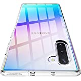 Spigen Liquid Crystal Hülle Kompatibel mit Samsung Galaxy Note 10 -Crystal Clear