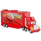 Disney Pixar Cars GYK60 - Cars Track Talkers Mack Truck, Lightning McQueens Transporter, ab 3 Jahren