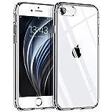 Hülle kompatibel mit iPhone SE 2020 iPhone 8 iPhone 7, Syncwire Transparent Kratzfest Schutzhülle, Anti-Gelb Luftkissen Fallschutz Silikon Handyhülle Case mit Robuster Harte-PC Rück