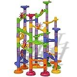 LONGMHKO Konstruktions- BAU-Spielzeuge Murmelbahn Kugelbahn Kinderspielzeug Altersempfehlung: ab 3 Jahren