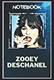 Zooey Deschanel Notebook: A Multipurpose and High Quality Notebook That Can Be used as a Journal. (115+ Pages, 6 x 9, Lined)