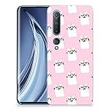 B2Ctelecom Silikon Hülle für Xiaomi Mi 10 Pro Weiche Schlank Schutzhülle Schlafenkatzen