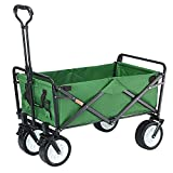 Outdoor Campingwagen Gartenwagen Faltbarer Bollerwagen Zugwagen bis 80kg Belastung