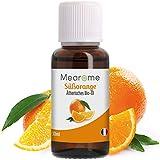 Orangenöl BIO | Ätherisches Öl 100% Naturrein | Süßorange Duft-Öl Orange für Diffuser | Aroma zum Verzehr Backen Aromatherapie Anti Stress besser Schlaf Vitamin C Reiniger⎟Bien-Être Mearome