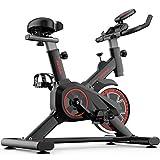 YHRJ Fitnessbikes Sport Bike Leises Trainingsrad für das Heim-Fitnessstudio,Gewichtsverlust Training Spinning Bike,Einstellbares Pedalrotationsfahrrad,Kann 150 kg tragen