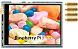 7,1 cm (2,8 Zoll) resistives Touch-Display-Modul für Raspberry Pi Pico, 320 × 240 Pixel, IPS-LCD-Bildschirm, Touch-Controller XPT2046, ST7789 Treiber, SPI-Schnittstelle, 262K Display-Farbe
