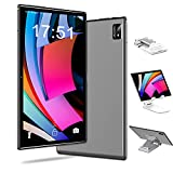 4G LTE Tablet 10 Zoll Android 10.0, 6 GB RAM + 128 GB ROM, 512 GB Erweiterbar, Octa-Core, 1080p Full HD-Display, 7000 mAh, Tablets mit Simkarten Slot, 5G Dual-Band-WLAN, Dual SIM, GPS, Tablet Ständer