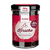 Xucker Fruchtaufstrich Kirsche mit Xylit - Fruchtiger Brotaufstrich mit Xylitol I 74% Fruchtgehalt I vegan & zuckerreduziert (220g)