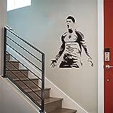 Cristiano Ronaldo Fußball Star Aufkleber Junge Geburtstagsgeschenk Wandaufkleber Wandbild Vinyl Tapete Poster A6 57x68cm