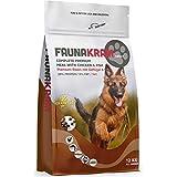 Faunakram Premium hundefutter trockenfutter getreidefrei - Hundetrockenfutter mit Geflügel und Fisch für ausgewachsene Hunde Aller rassen, (Huhn | Fisch, 12 kg)