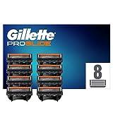 Gillette Fusion 5 ProGlide Rasierklingen für Männer, mit FlexBall Technologie, Passt sich den Konturen an, 8 Stück, briefkastenfähige Verpackung (Verpackung kann variieren)