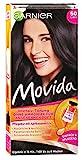 Garnier Tönung Movida Pflege-Creme / Intensiv-Tönung Haarfarbe 50 Cassis (für leuchtende Farben, auch für graues Haar, ohne Ammoniak) 3er Pack Haarcoloration-Set