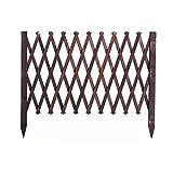 JHHL Rankgitter Holzzaun/Zaun/Holz Zaun/Outdoor Gartenzaun/Teleskop Leitschiene/Grid Dekoration/Tier Zaun/Barriere Tür, for Hof Zaun/Partition/Dekoration (Size : 79 * 180cm)