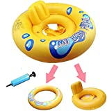 KAKAF Baby Schwimmring Aufblasbare Baby Schwimmhilfe Schwimmsitz Schwimmtrainer Wasserspielzeug Baby Float Schwimmhilfe Spielzeug Kleinkind Kinder Schwimmreifen