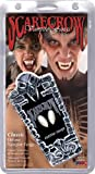 Halloween! Smiffys Knutschfleck-Fangzähne, Befestigung am Zahn, mit Klebstoff