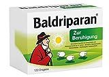 Baldriparan Zur Beruhigung – Pflanzliches Arzneimittel mit Baldrianwurzel-Trockenextrakt – Bewährte Dragees bei Unruhezuständen und nervös bedingten Einschlafstörungen – 120 Dragees