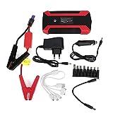 Multifunktions-Starthilfe, 20.000 mAh, 4 USB-Ladegerät, 12 V, Powerbank, EU-Stecker (EU-Stecker)