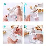 PULABO 1 Packung Schaumseifenspender, Shampoo-Schaumspender, Pumpflaschen mit Schaumbildner, BPA-frei, für Küchen- und Badezimmerarbeitsplatten, Schaumseife 250ml8,5 oz Praktisch und praktisch Belieb