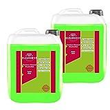 Cleanerist Flüssigwaschmittel Premium Waschmittel mit Apfel-Duft | 2x10 Liter Vollwaschmittel Grosspackung | bis zu 440 Waschladungen color weiß schwarz