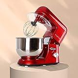 Klarstein Bella Rossa Küchenmaschine Rührgerät (1200 Watt, 5,2 Liter-Rührschüssel, 6-stufige Geschwindigkeit)