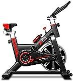 Spinning BikeGym Fortgeschrittenes Fahrrad und Elliptischer Crosstrainer mit Trainingscomputer Heimtrainer