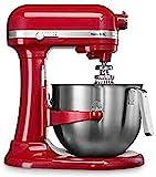 Kitchenaid 5KSM7591XEER Küchenmaschine 1.3 HP Heavy Duty 6,9L, Rot