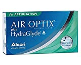 Alcon Air Optix plus HydraGlyde for Astigmatism Monatslinsen weich, 3 Stück / BC 8.7 mm / DIA 14.5 mm / CYL -0.75 / ACHSE 180 / -3.75 Dioptrien