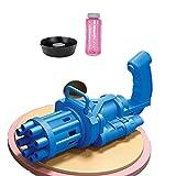 Reooly Automatischer Seifenblasenmaschinen,8-Loch-Blase Machine,Seifenblasenmaschine Spielzeug,Seifenblasen Badespielzeug für Kinder/Hochzeit/Geburtstag Party/Geschenk