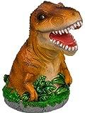 Bada Bing Spardose Dinosaurier Dino BRAUN Ca. H. 14,5 x Ø 8,5 cm T-Rex Sparschwein Zum Geld Sparen Geschenk Junge Geburstatg WeihnachtenGeldgeschenk Verpacken 94