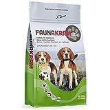 Faunakram Getreidefreies Hundefutter Senior/Diät - Hundetrockenfutter mit Geflügel für ältere Hunde Aller Rassen, ebenfalls geeignet als Diätfutter für Hunde bei Übergewicht, 1 x 10 kg