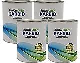 ButKarCHEM Karbid 1 Kg Karbit (Kabit Kabitt karbitt Karbit Karbid Steine) nur 3% Staubanteil lang anhaltendes Gas (Karbid Lamp Lab Nr.533469729)(24h Sofort - Versand) (1 Kg)