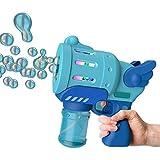 Seifenblasenpistole für Kinder, Handblasenmaschine Bunte Lichter Blase Maschine für Kinder, Seife Bubble Pistole für Outdoor, Indoor, Party, Geburtstag