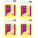 Cleanerist Flüssigwaschmittel Premium Waschmittel mit Vanille Duft   4x5 Liter Vollwaschmittel Grosspackung   bis zu 440 Waschladungen color weiß schwarz