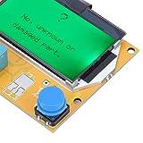 Transistortester, Transistorprüfer Verschleißfester Ein-Tasten-Betrieb Praktisch tragbar für Thyristoren für Widerstände für Kondensatoren für Trioden