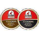 Erdal Schuhcreme Classic Schwarz, Braun (75 ml) Vorteilspack
