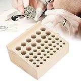 FECAMOS Hochwertiger Holzuhrenreparaturwerkzeughalter Festes Uhrmacherwerkzeug-Lagerregal, für den Heimgebrauch