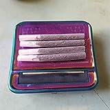 Zigaretten Rollbox Basis, Durchmesser 6-8 mm, Länge 70 mm, Rollmaschine, Stopfmaschine, Drehmaschine (Multicolor)