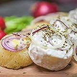 Harzer Käse | Handkäse mit Musik | fettarmer, pikanter und proteinreicher Sauermilchkäse | 3 Harzer Roller | insgesamt 12 Käsetaler | der fettärmste Käse überhaupt | mit und ohne E